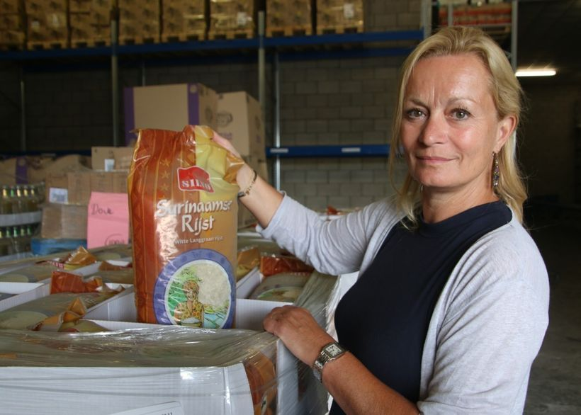 """Margje Polman Tuin, intake manager at the Amsterdam Food Bank: """"<em>nationwide, many Dutch food banks tirelessly educate cons"""