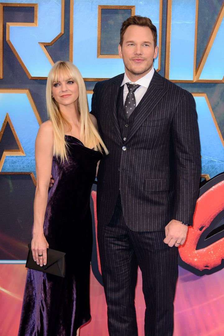 Anna Faris and Chris Pratt's last public appearance as a couple before the announcement of their split.