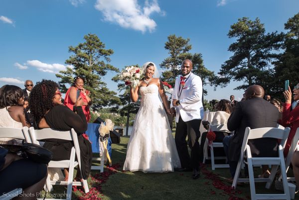 """Rachel and Austin were surrounded by love on their amazing wedding day! It was a beautiful summer afternoon at Sugarloaf Cou"