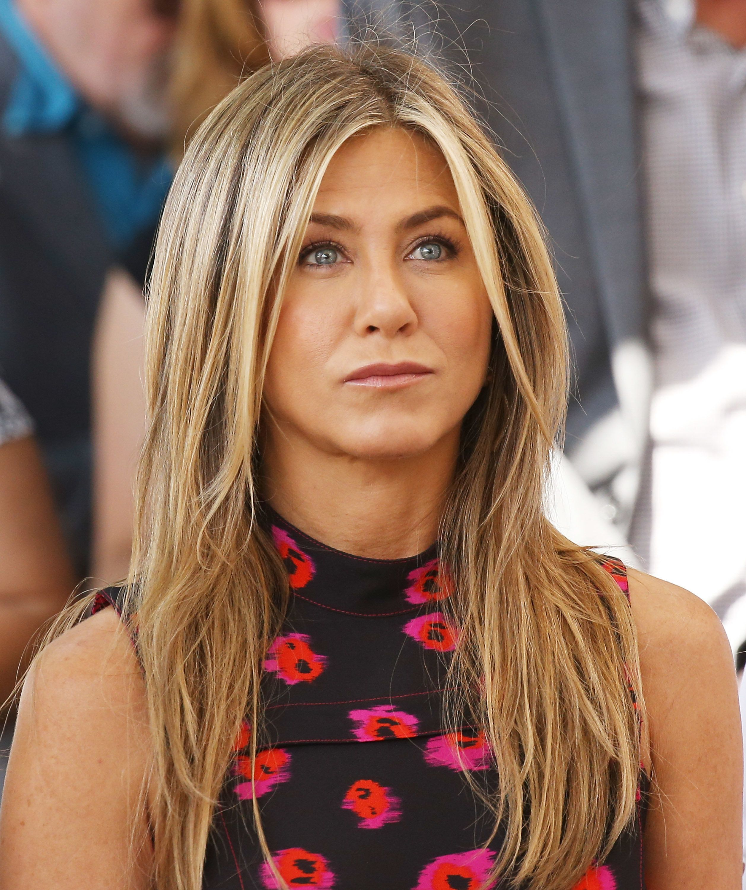 Jennifer Aniston first appeared after an angry article about her non-pregnancy