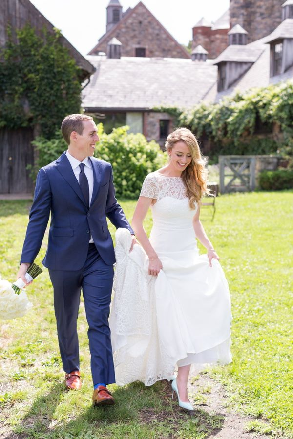 """Ted Holzman and Jessica Engel married at Blue Hill at Stone Barns.""<i> -- Courtney B. </i>"