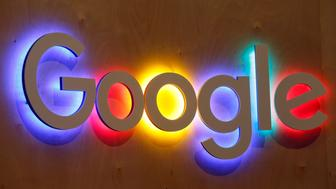 PARIS, FRANCE - JUNE 16:  A Google logo is displayed during the Viva Technology show on June 16, 2017 in Paris, France. Viva Technology, the new international event brings together 5,000 startups with top investors, companies to grow businesses and all players in the digital transformation who shape the future of the internet.  (Photo by Chesnot/Getty Images)