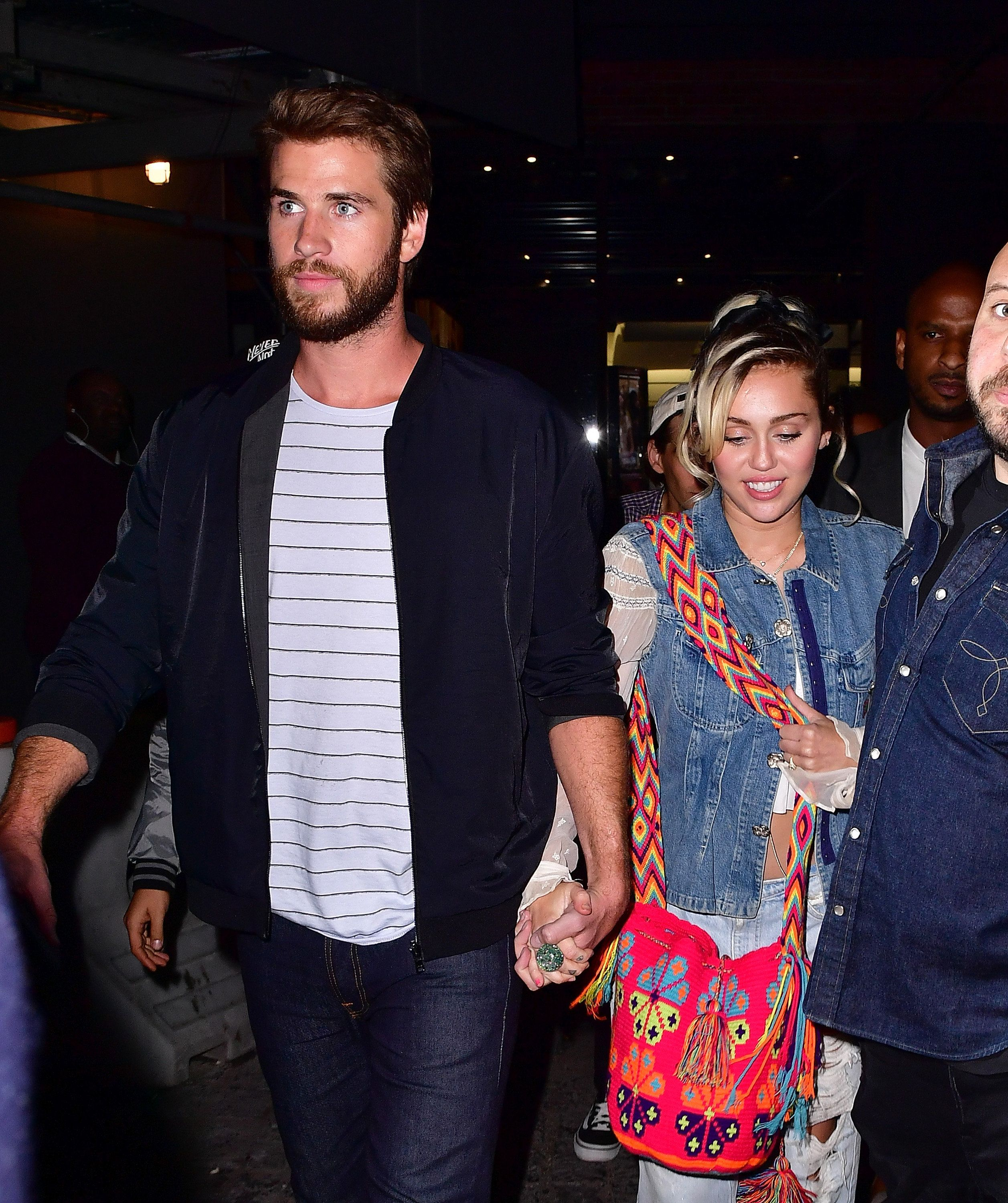 First Look At Miley Cyrus & Liam Hemsworth Wedding Reception