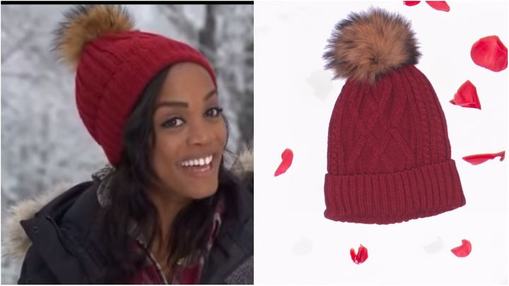 """Lindsay wore this hat on her last date with Nick. """"It's super cute and kept me warm in the cold Finland weather,"""" she wrote.&"""