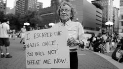 This Woman Escaped The Nazis Once. Now She's Fighting Nazism