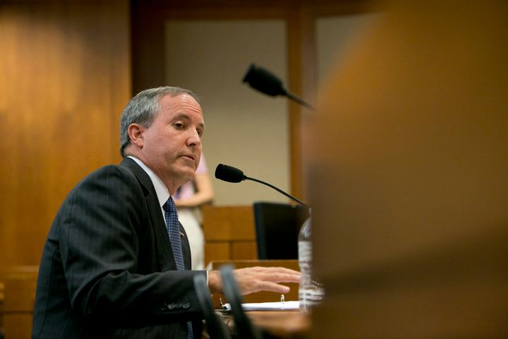 Texas Attorney General Ken Paxton hopes to undo former President Barack Obama's signature immigration reform.