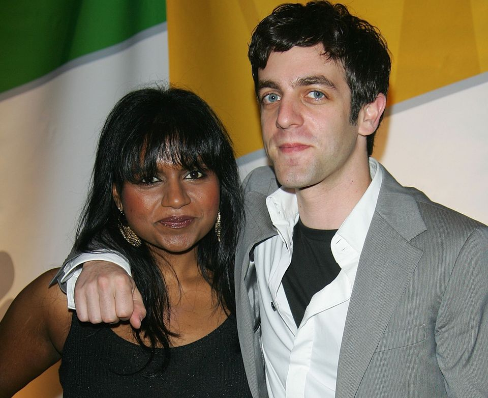 Mindy Kaling and B.J. Novak attend the NBC Primetime Preview 2006-2007 at Radio City Music Hall on May 15, 2005 in New York C