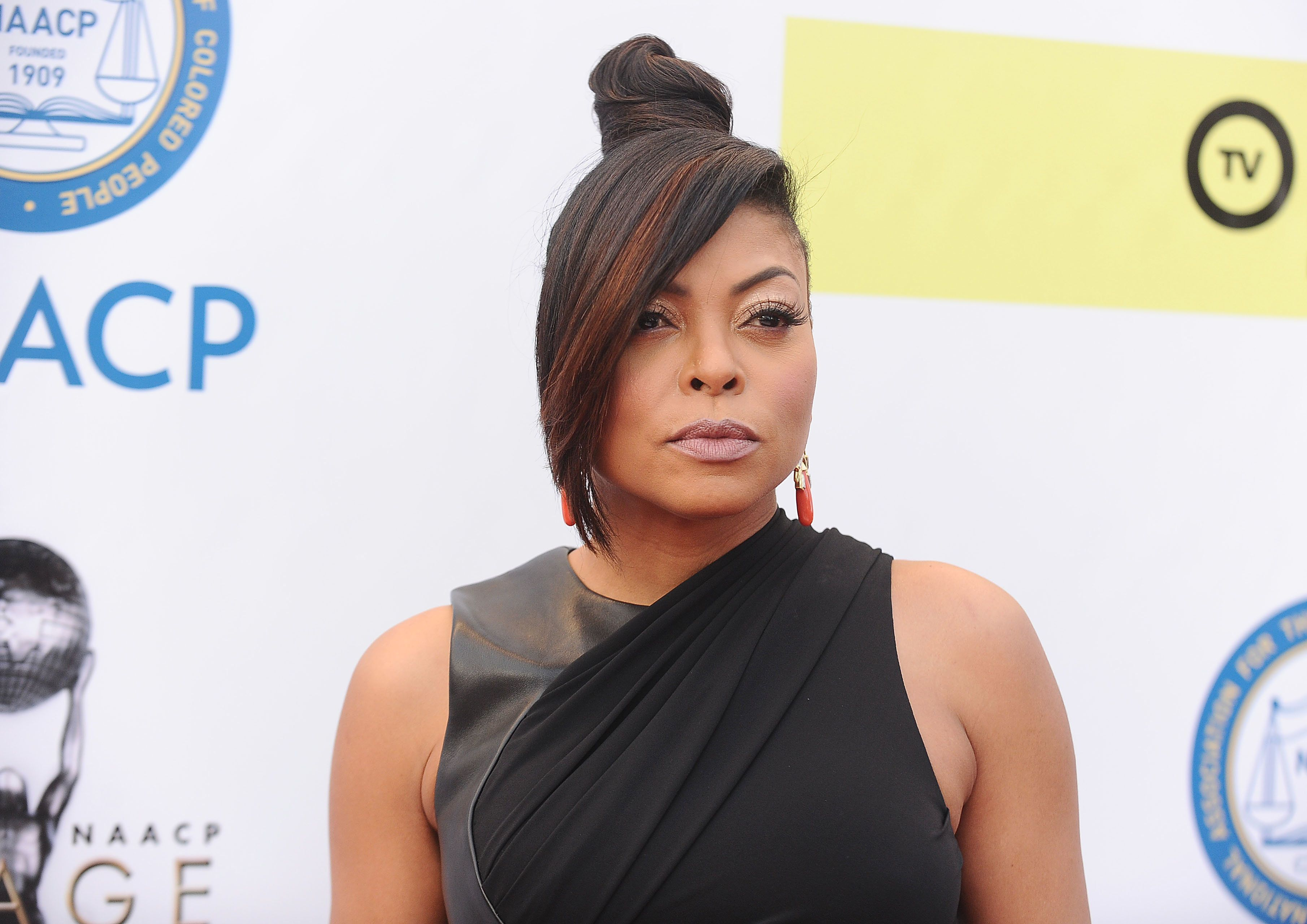 PASADENA, CA - FEBRUARY 11:  Actress Taraji P. Henson attends the 48th NAACP Image Awards at Pasadena Civic Auditorium on February 11, 2017 in Pasadena, California.  (Photo by Jason LaVeris/FilmMagic)