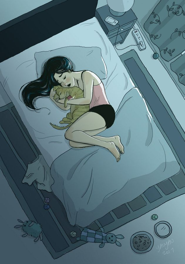 Artist Perfectly Captures The Intimate Magic Of Living