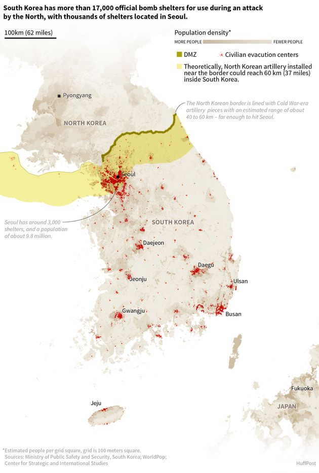 In Seoul, Confusion And Apathy Surround City's 3,200 Bomb