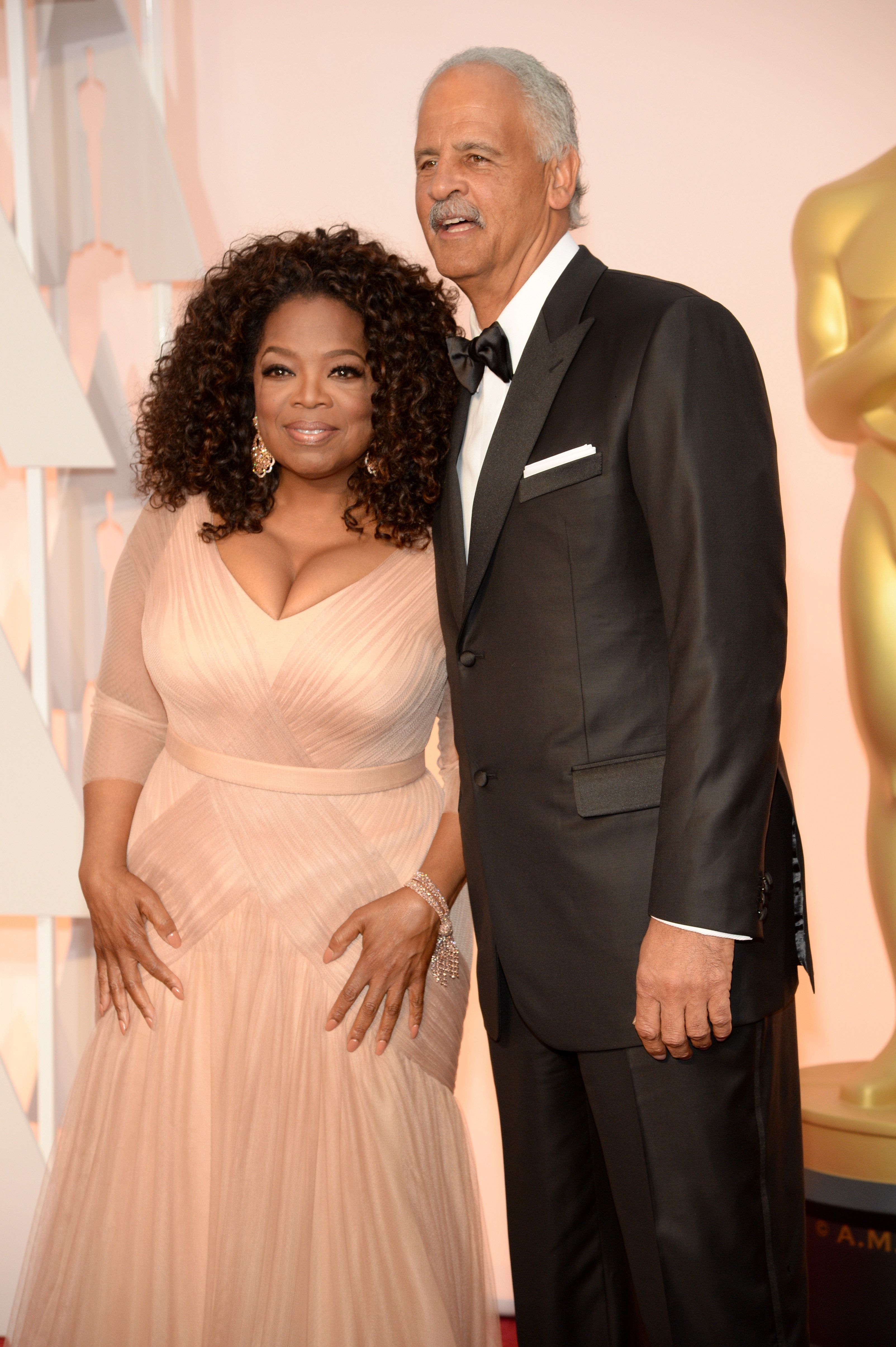 Here's Why Oprah And Stedman Have Never Gotten