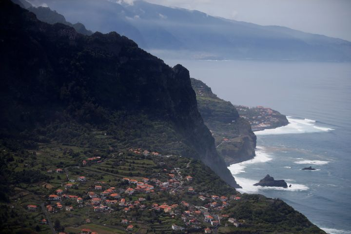 A general view shows the small village of Arco de Sao Jorge on Madeira's North coast, Portugal, March 30, 2017.