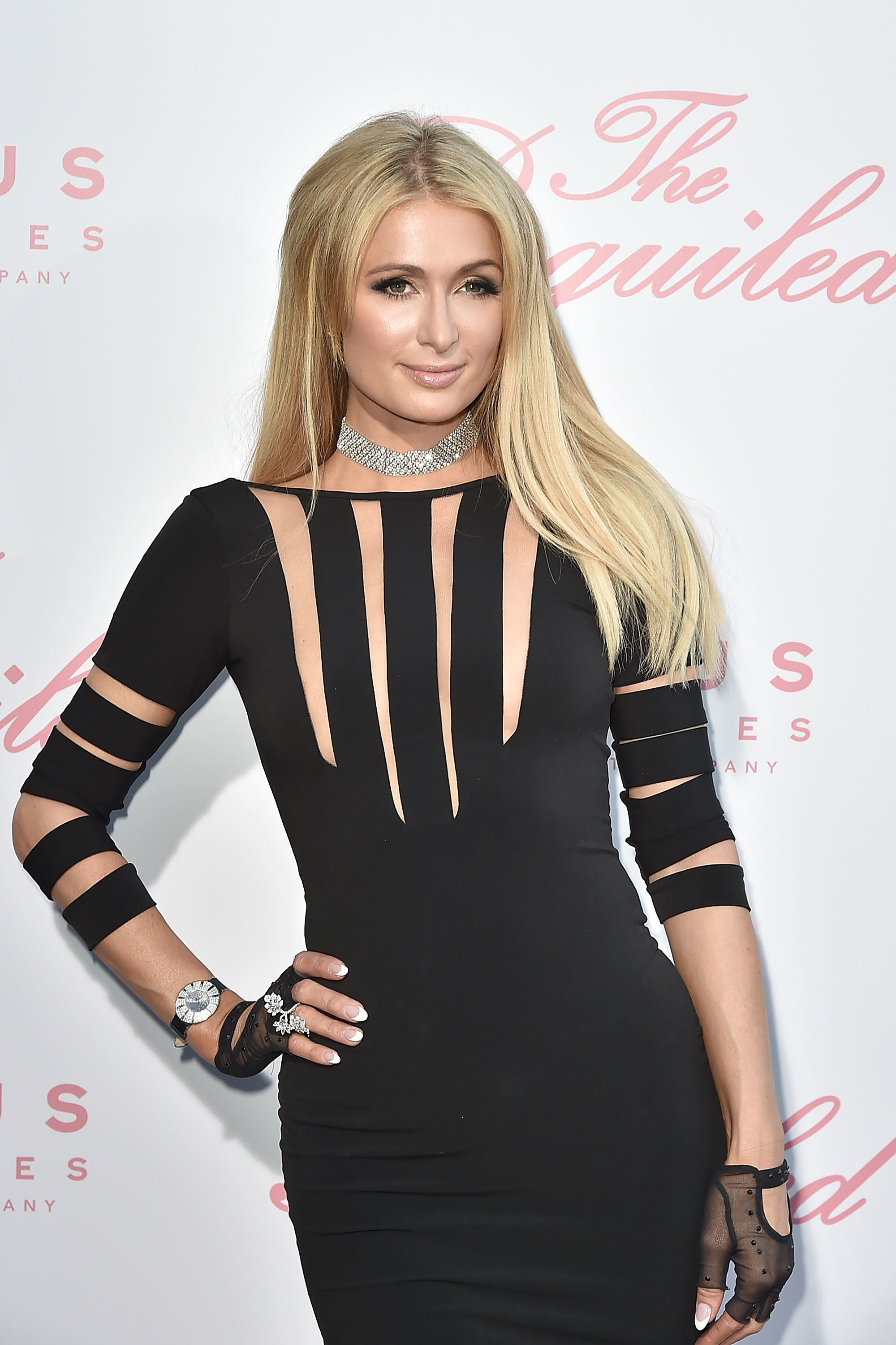 "Paris Hilton attends the U.S. premiere of ""The Beguiled"" on June 12."