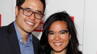 LOS ANGELES, CA - NOVEMBER 12:  Randall Park and Ali Wong attend CAPE's 20th Anniversary Gala at Union Station on November 12, 2011 in Los Angeles, California.  (Photo by Brent Harrison/FilmMagic)