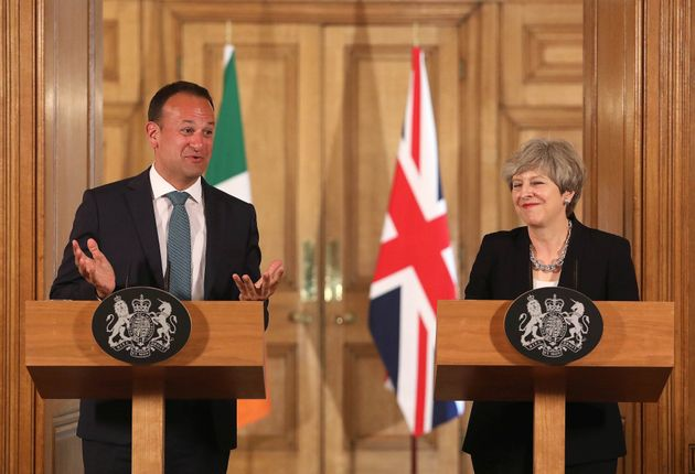 Irish Taoiseach Leo Varadkar is reported to have wanted a sea border with the UK - something rejected...