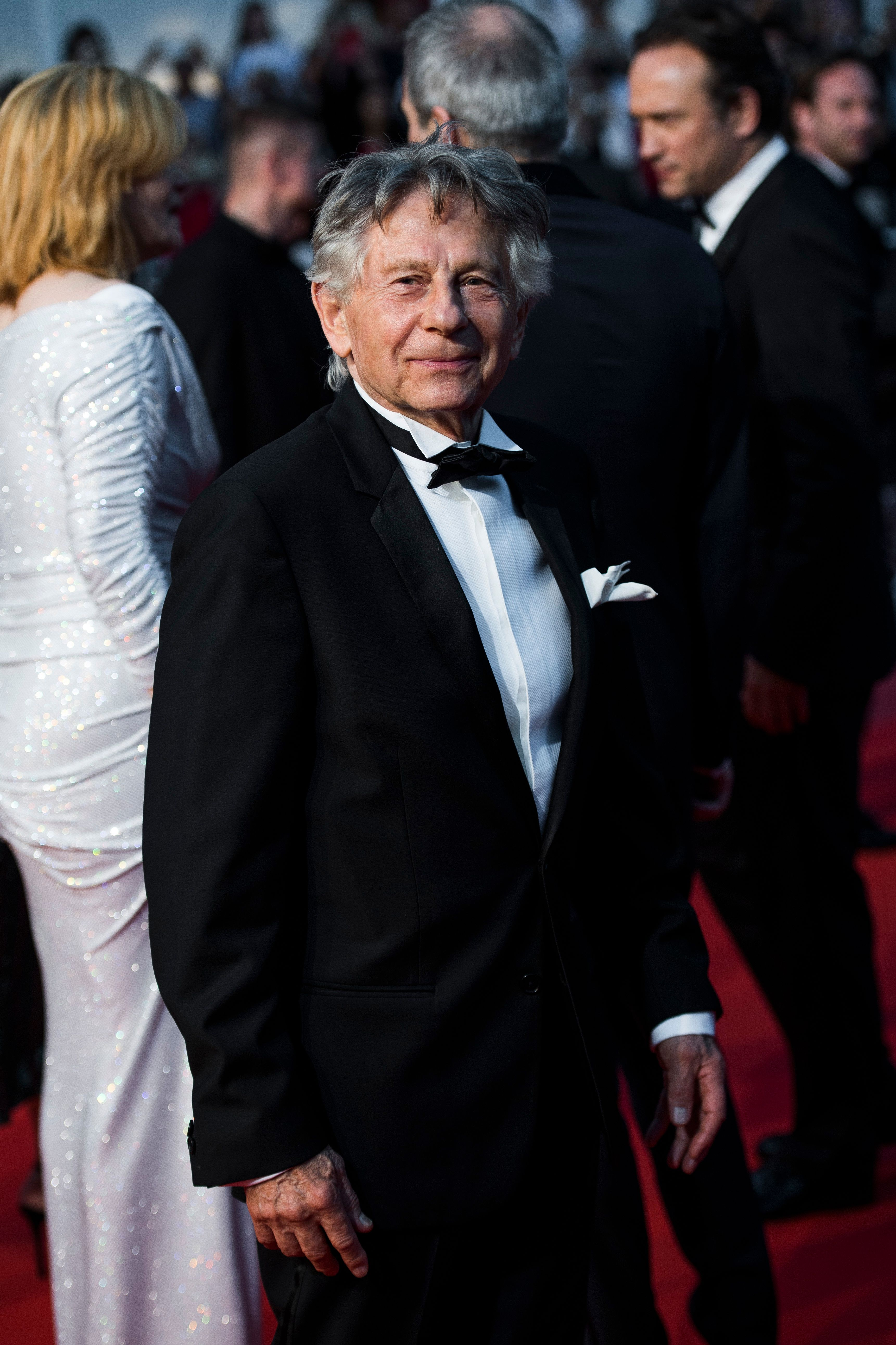 CANNES, FRANCE - MAY 27:  Roman Polanski attends the 'Based On A True Story' screening during the 70th annual Cannes Film Festival at Palais des Festivals on May 27, 2017 in Cannes, France.  (Photo by Matthias Nareyek/Getty Images)
