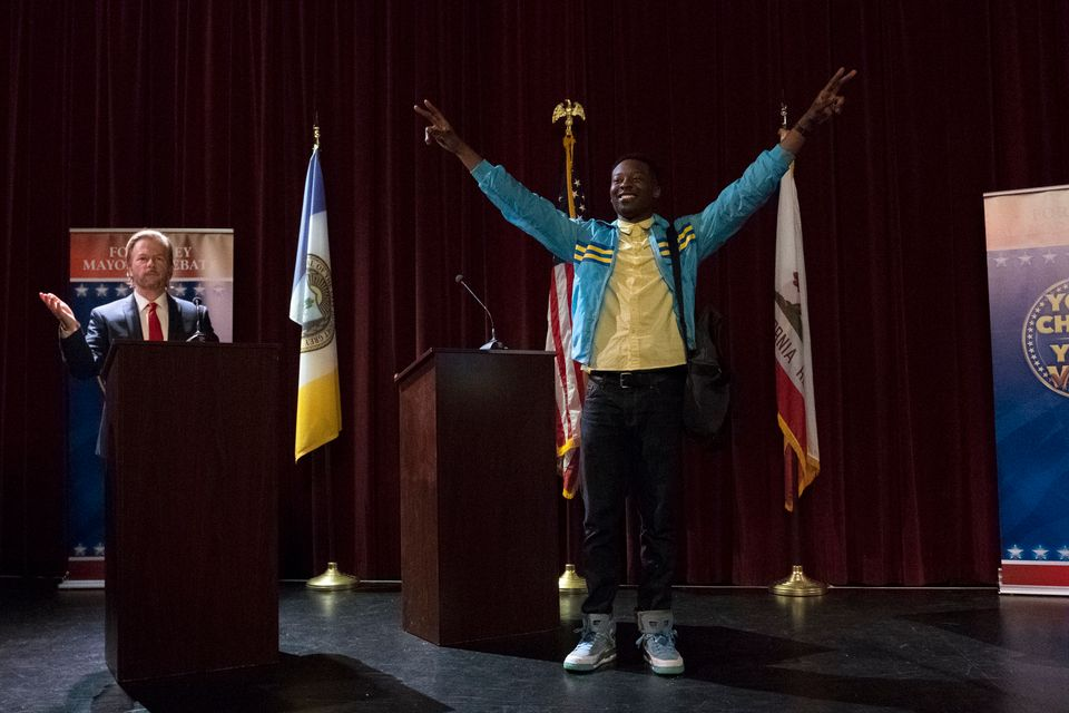 """""""The Mayor"""" --Young rapper Courtney Rose needs his big break. For years, he's toiled away in a small inner-city apartme"""