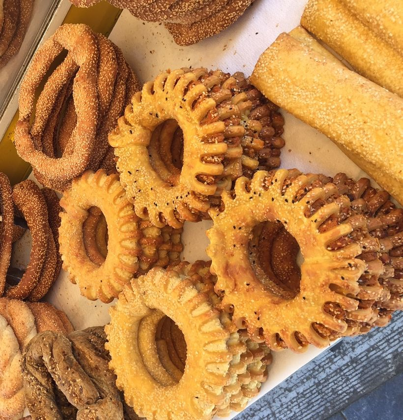 A koulouri is like an Athenian bagel.