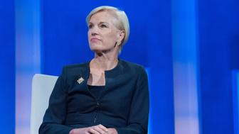 NEW YORK, NY - SEPTEMBER 20, 2016 : President Planned Parenthood Federation of America Cecile Richards participates in a panel discussion during the annual Clinton Global Initiative on September 20, 2016 in New York City. (Photo by Stephanie Keith/Getty Images)