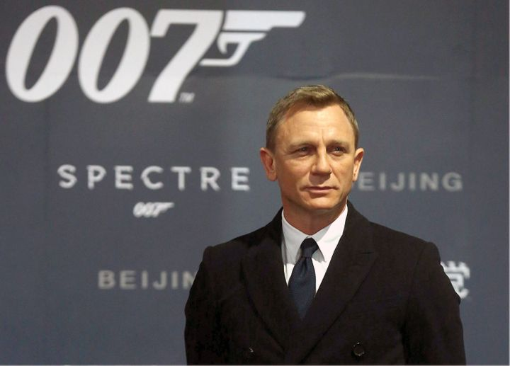 "Daniel Craig attends the Beijing ""Spectre"" premiere in November 2015."