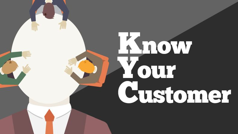 KYC is Know Your Customer, and a requirement in the fight against money laundering.