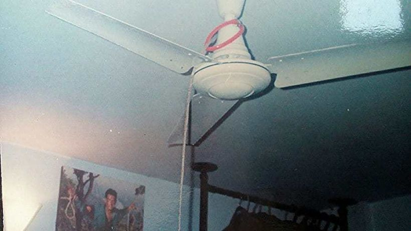 """On  September 6, 1996, Salman body was found hanging from a ceiling fan in a room at his Eskaton residence in Dhaka."""" For the"""