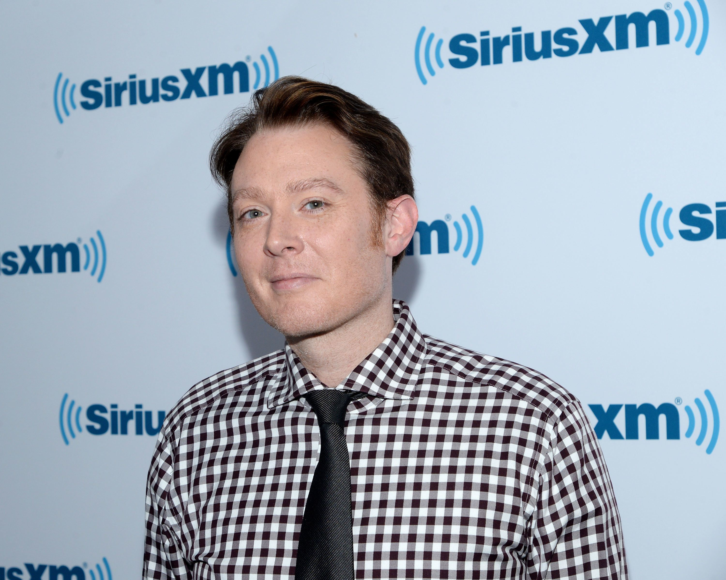 NEW YORK, NY - APRIL 06:  Singer/songwriter Clay Aiken visits at SiriusXM Studios on April 6, 2015 in New York City.  (Photo by Ben Gabbe/Getty Images)