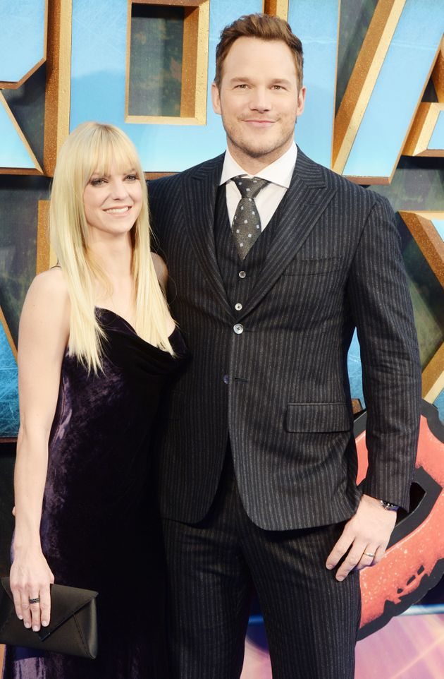 Anna and Chris at one of their final public appearances as a