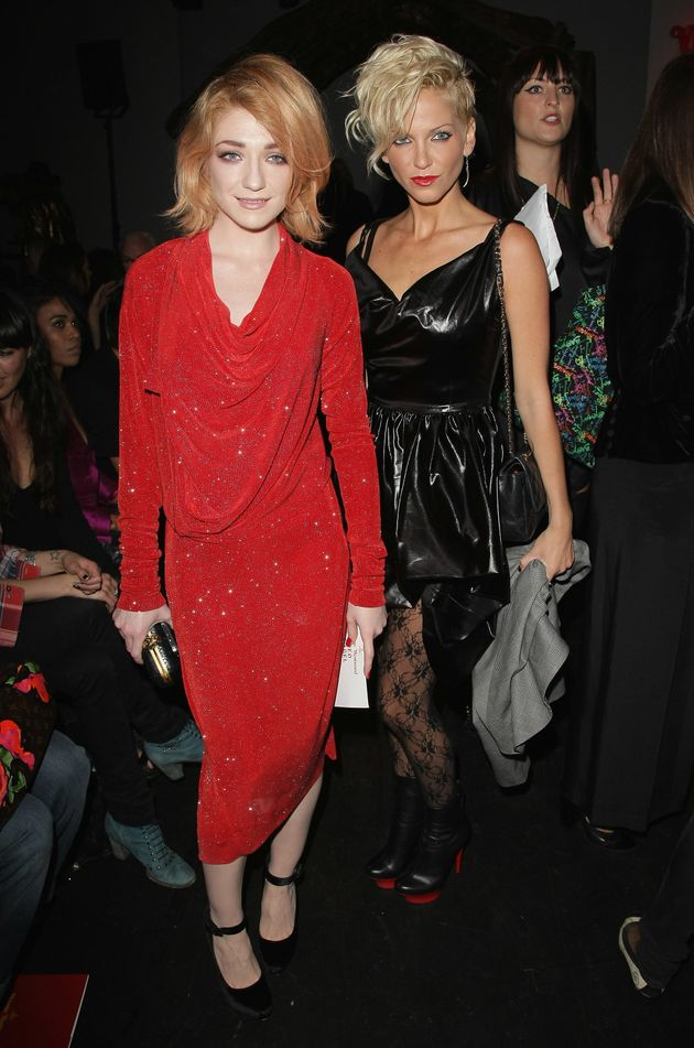 Nicola Roberts and Sarah Harding in