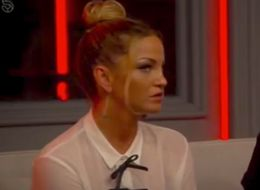 Sarah Harding Can't Mask Her Disdain As Jemma Lucy Is Saved From 'CBB' Eviction