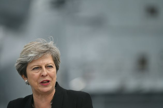Theresa May raised concerns about the Big Ben plan on a visit to