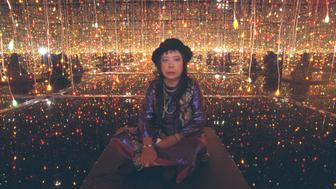 Yayoi Kusama exhibition at 3 Venues, in Paris. (Photo by Alain Nogues/Sygma/Sygma via Getty Images)