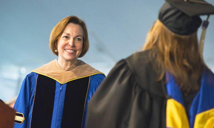 Bentley University President Gloria Larson
