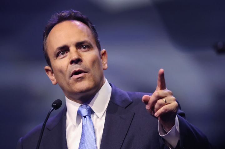 Kentucky Gov. Matt Bevin (R) is opposed to relocating Confederate statues.