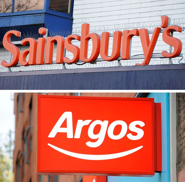 Argos was acquired by Sainsbury's in
