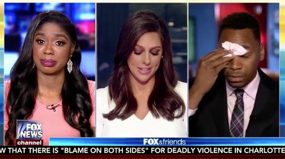 COMPILATION: Media Cries After Trump Charlottesville Presser