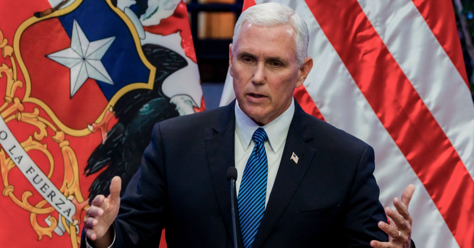 Mike Pence Says He 'Stands With The President' On Charlottesville   HuffPost