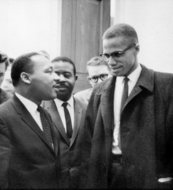 "Photo Credit: <a rel=""nofollow"" href=""https://upload.wikimedia.org/wikipedia/commons/e/e1/MLK_and_Malcolm_X_USNWR_cropped.jpg"