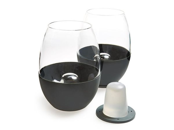 Soireehome just changed the wine game with these self-chilling glasses. Surprise the vino connoisseur in your life with these
