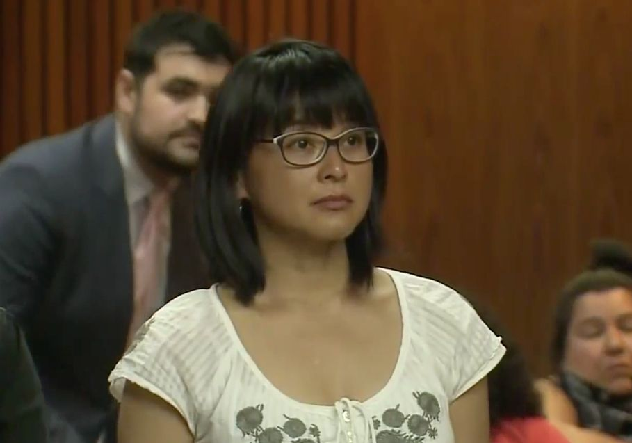 Felarca was arraigned this month on charges stemming from the year-old protest.