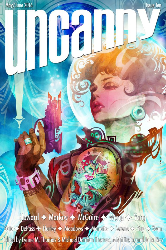 A Sci-Fi Magazine Created Entirely By Writers And Editors With Disabilities Is
