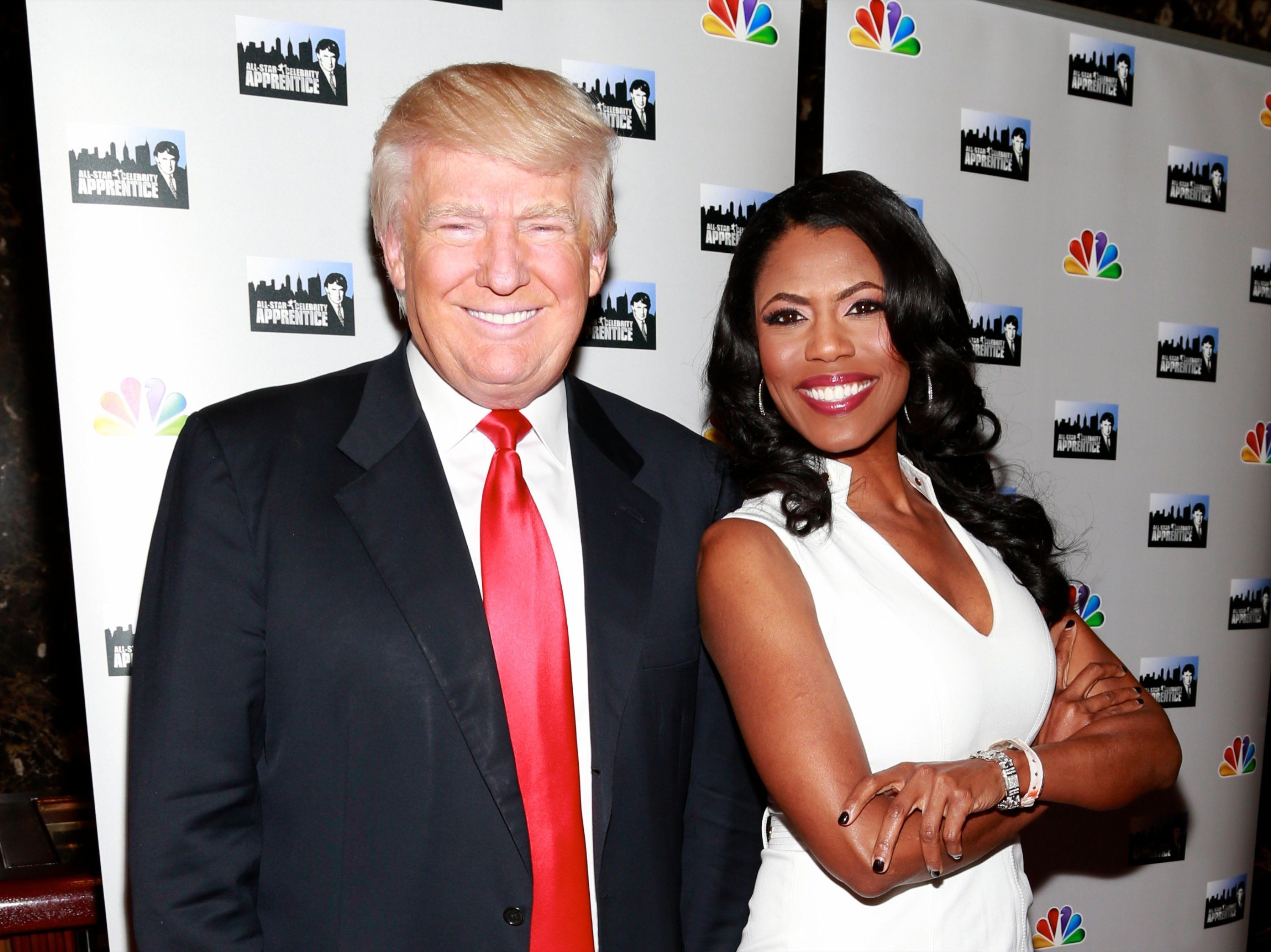 President Trump and Omarosa, BFFs.