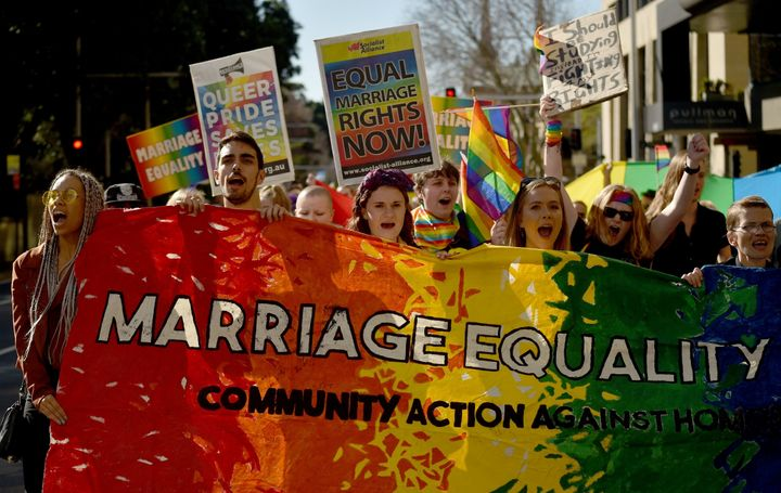 Though Australians have shown wide support for marriage equality, the nation has been at odds over how to legally recognize s
