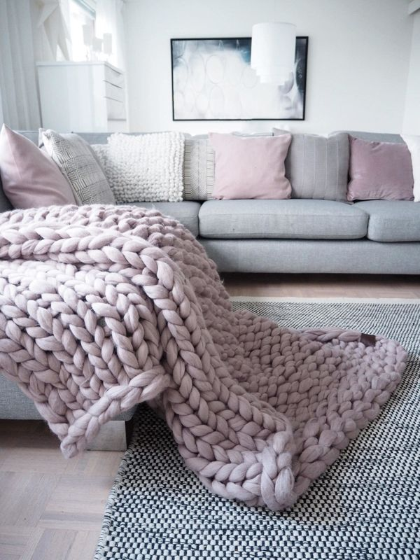 "If a chunky knit blanket doesn't make them happy, we don't know what will. Shop it <a href=""https://www.etsy.com/listing/4874"