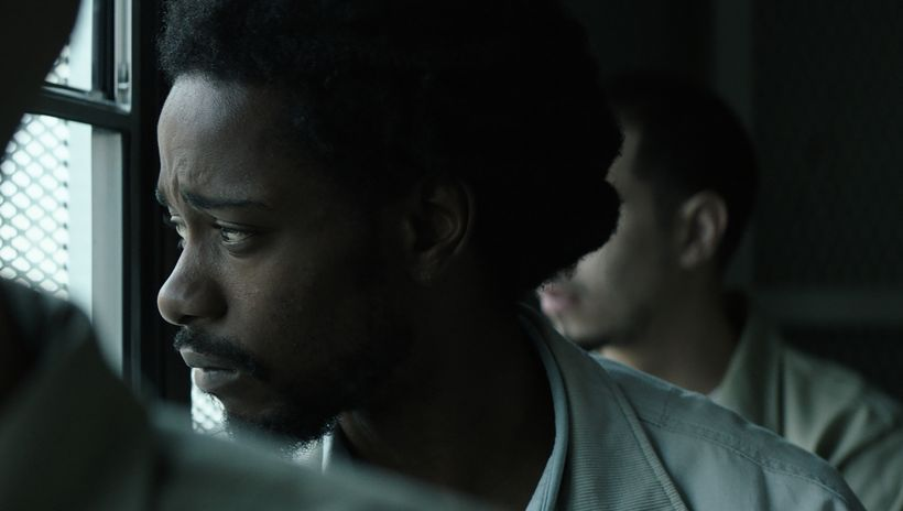 Lakeith Stanfield  stars as wrongfully convicted Colin Warner in the crime drama Crown Heights.