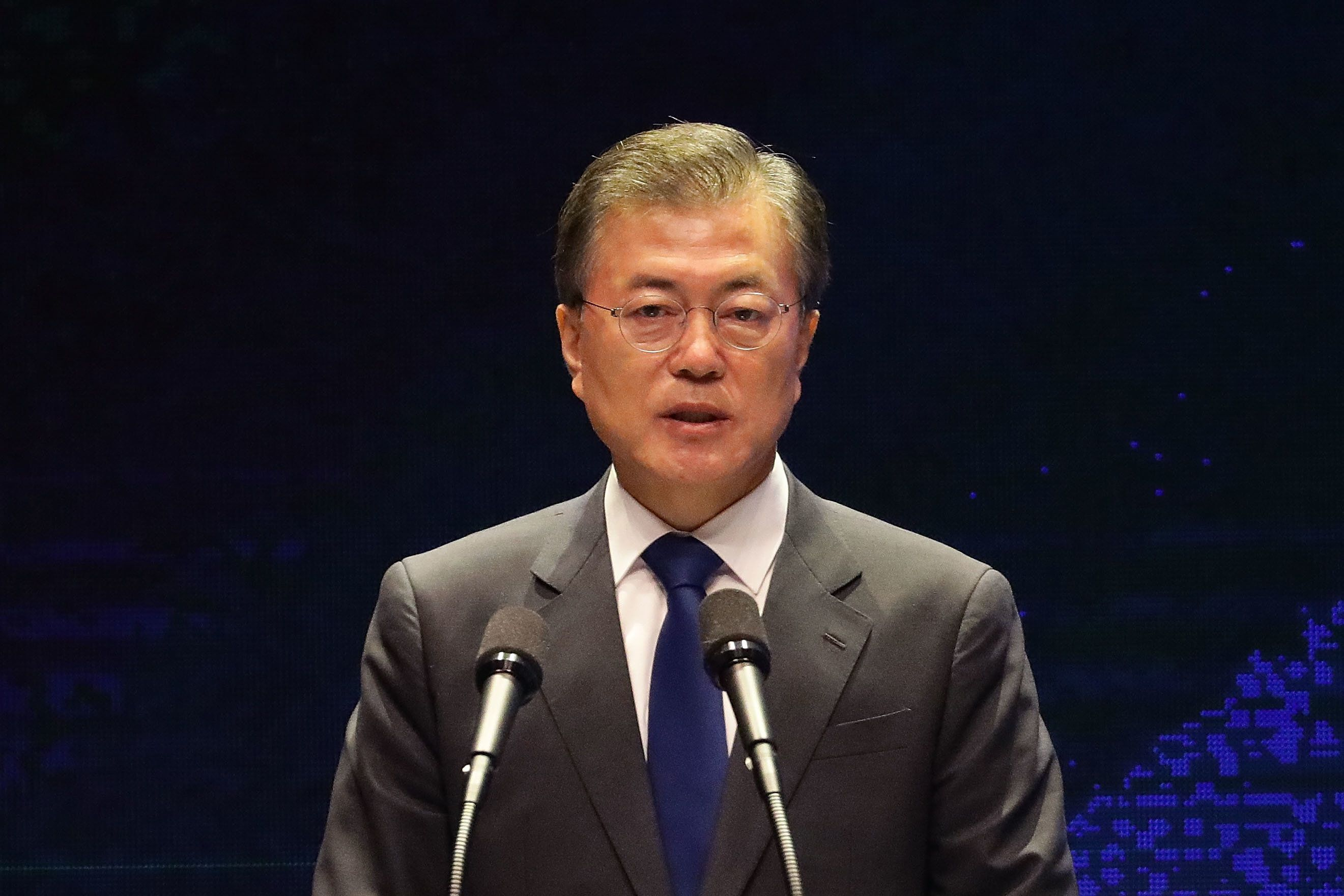 South Korea pledges 'no war on Korean peninsula'