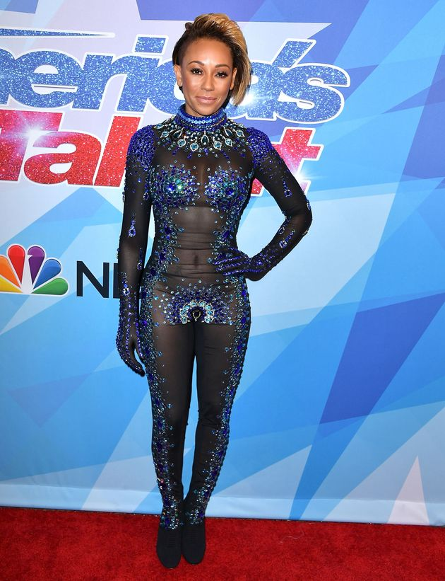 Americas Got Talent Judge Mel B: Husband Was Naked