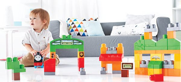 The Joy Of Building Blocks For Very Small Children