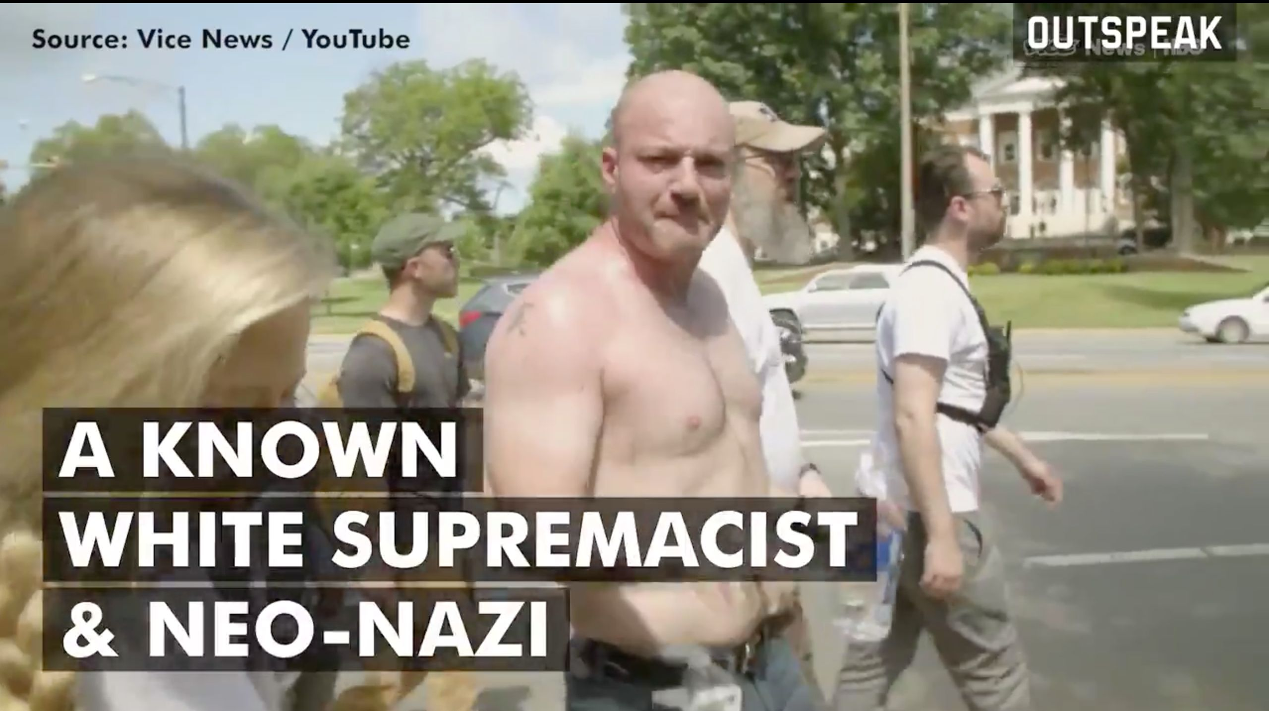Nazi Cries Hysterically After Realising Everyone Knows He's A