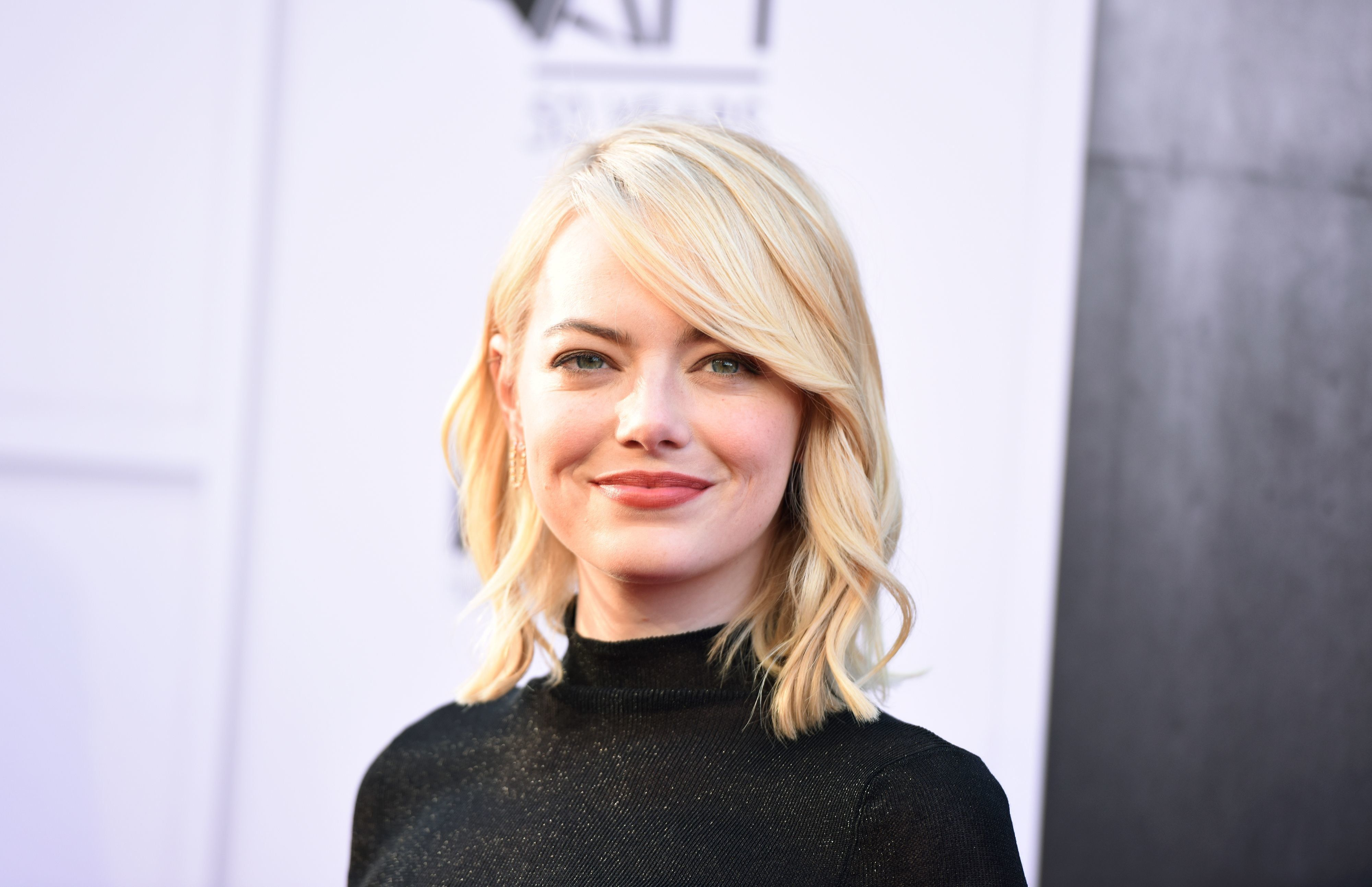 Actress Emma Stone attends the 45th AFI Life Achievement Award Gala honoring Diane Keaton, June 8, 2017, at the Dolby Theatre in Hollywood, California. / AFP PHOTO / Robyn Beck        (Photo credit should read ROBYN BECK/AFP/Getty Images)